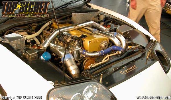 Supra с RB26DET от Top Secret