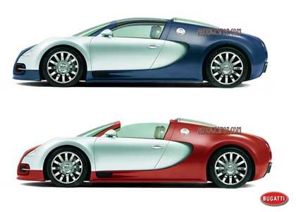 Bugatti Veyron, Spider, Targa