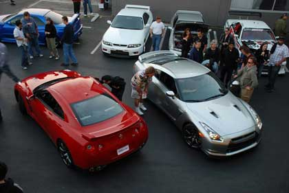 Праздник для любителей Nissan