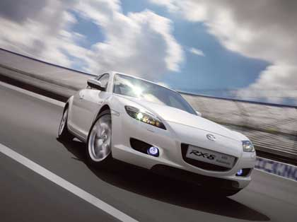 Mazda отметила юбилей роторного двигателя