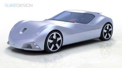 Toyota 2000 SR: через 15 лет машины будут выглядеть так