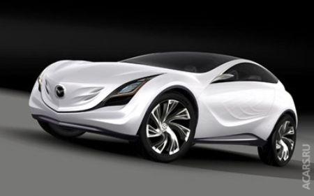 Mazda представит новый концепт-кар Kazamai на Московском автосалоне