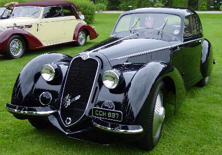 Alfa Romeo 8C 1938 года выпуска — самое красивое авто планеты