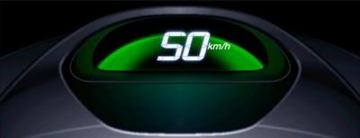 Новый спидометр Honda меняет цвет, когда водитель превышает скорость