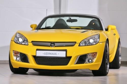 Lexmaul показал тюнинговый Opel GT Roadster