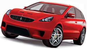 Компания Ferrari занялась разработкой своего первого внедорожника