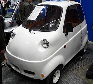 В 2009 году японцы выпустят новый одноместный электромобиль