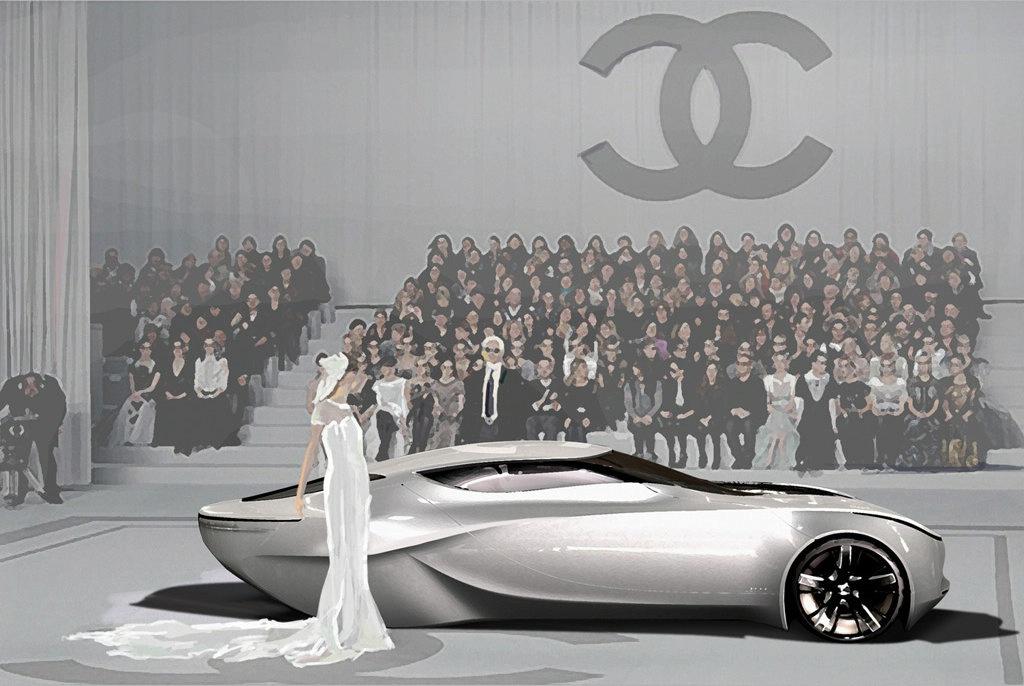 Студент из Кореи создал автомобиль Fiore под маркой Chanel
