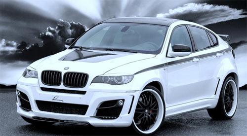 Ателье Lumma Design тюнинговало BMW X6