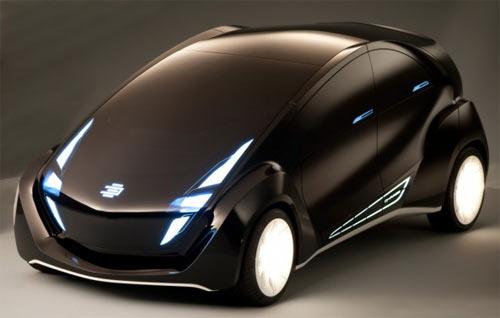 Светящийся автомобиль от EDAG