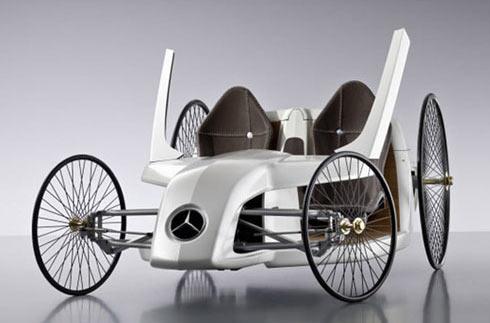 F-CELL Roadster: концепт, вдохновленный историей