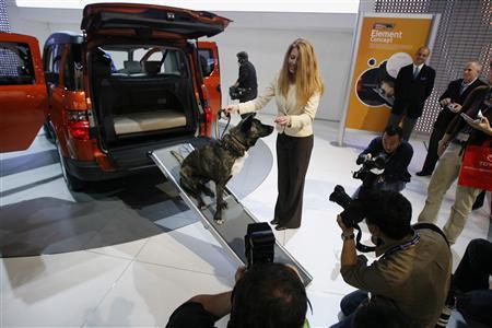 Концерн Honda представил внедорожник для собак