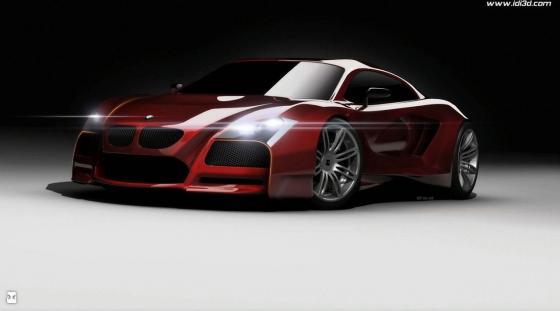 BMW M1 может конкурировать с Audi R8 и Lexus LF-A