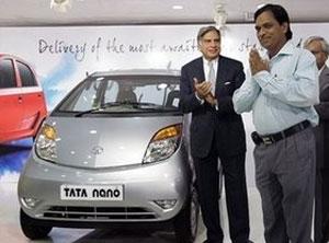 Tata Nano поступила в продажу