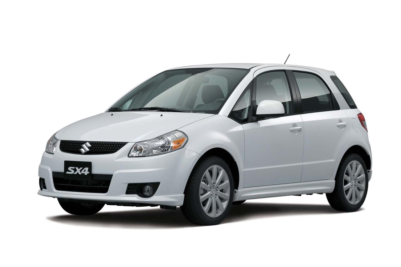 Suzuki анонсировал хэтчбек SX4 нового модельного года