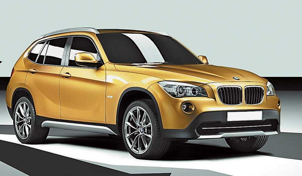 В конце октября BMW X1 появится в российских дилерских центрах