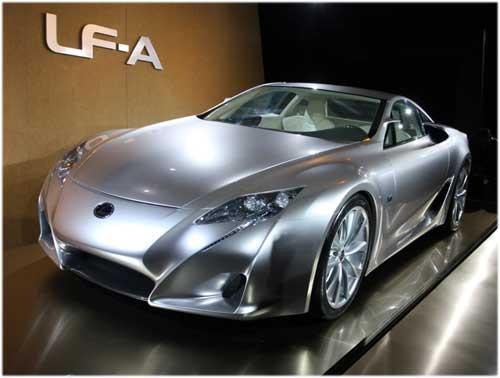 Lexus покажет в Токио долгожданный LF-A