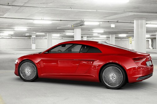 В Сети появились снимки электрокара Audi R8 E-Tron
