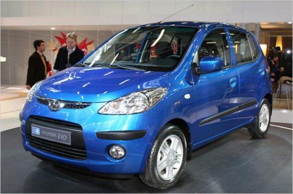 Hyundai презентовала электрическую версию i10