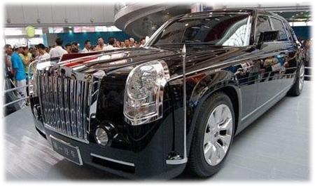 В Китае ставят на конвейер лимузин Hongqi HQE