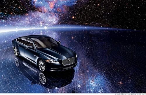 Jaguar представил «рождественский» седан XJL