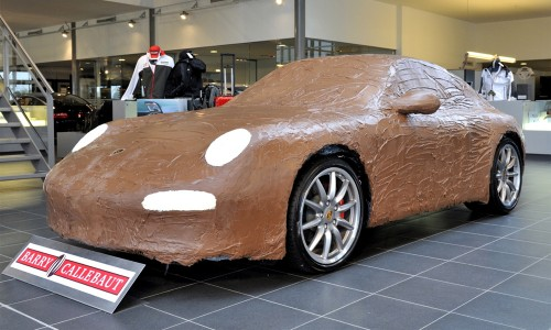 Голландцы создали шоколадный Porsche