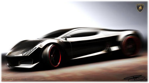 Концепт: Lamborghini Cachazo
