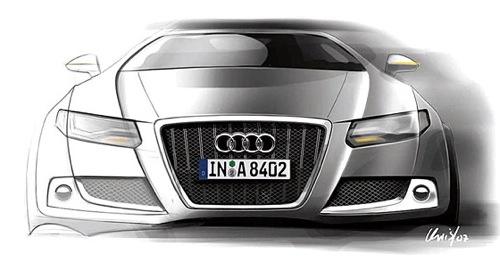 Audi презентует в Детройте прототип нового A6