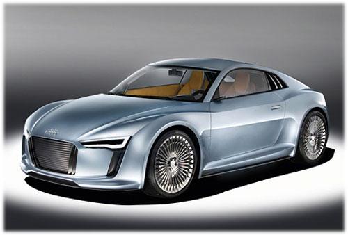 E-tron Detroit Showcar: новое компактное спорткупе от Audi