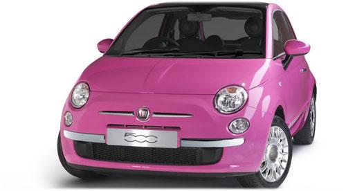 Розовые мечты от Fiat