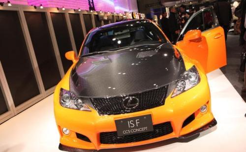 Новый концепт от Lexus: IS-F CCS-2010