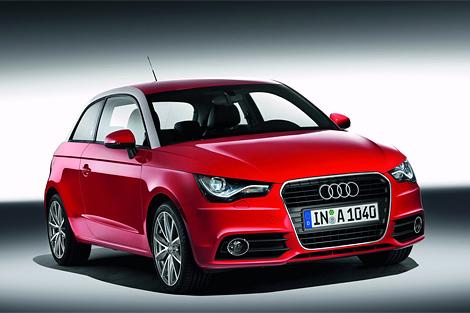 Audi разместила фото нового хэтчбека A1