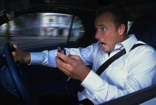 Ученые предложили устройство для набора SMS за рулем