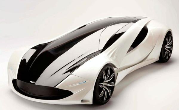 Российский студент разработал концепт-кар для Tesla Motors