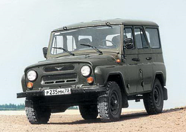 УАЗ-469 возвращается