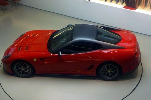 В сети появились шпионские снимки самой мощной версии Ferrari 599 GTB Fiorano
