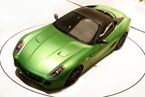 Снимки Ferrari 599 Hybrid показали досрочно