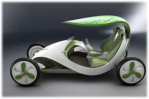 Китайский автомобиль будет производить кислород