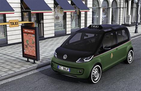 Volkswagen показал электрическое такси