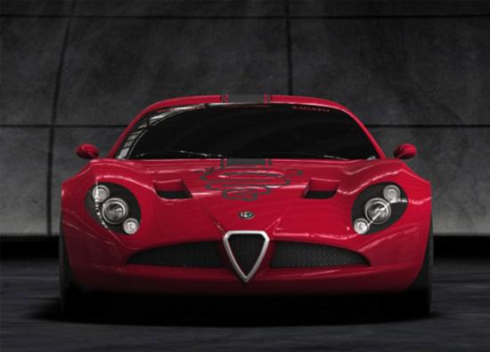 В Италии представили коллекционную Alfa Romeo