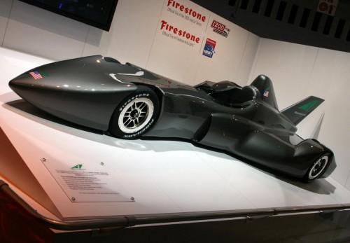 Batmobile Rocket Ship – концепт-кар от IndyCar
