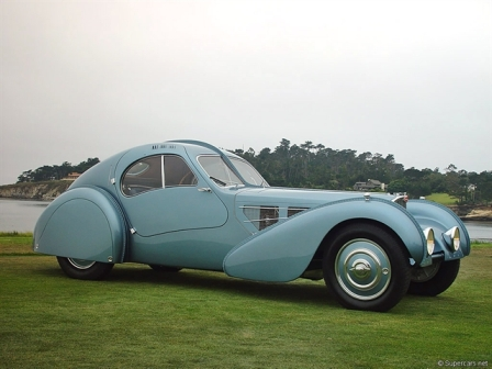 Ретромобиль Bugatti был продан за $40 млн