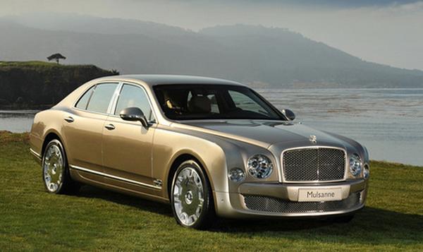 Bentley собрал заявок на седан Mulsanne на два года вперёд
