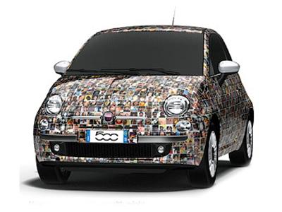 Спецверсия Fiat 500 «Чинквеченто» будет украшена фотографиями ее владельцев