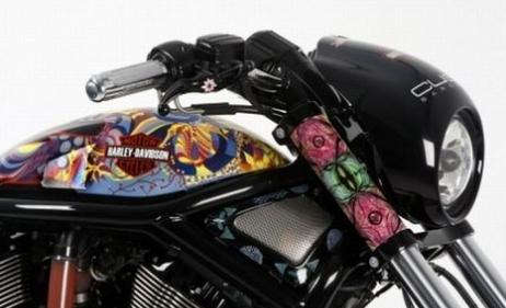 Уникальные Harley Davidson для благотворительного аукциона
