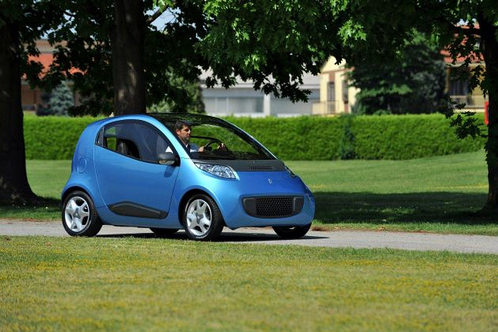 Panifarina Nido EV – взгляд в будущее электромобилей