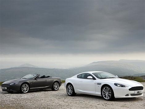 Aston Martin представляет обновленный суперкар DB9