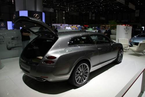 Bentley собирается выпустить конкурента хэтчбеку Porsche Panamera