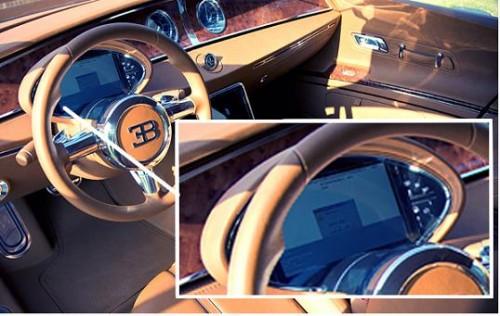 В самом дорогом Bugatti появится Windows
