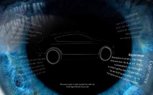 Audi представила первые рисунки четырехдверного купе A7